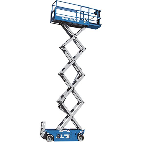 Self Propelled Cart >> Genie Self-Propelled Scissor Lift Aerial Work Platform - 26Ft. Lift, 500-Lb. Capacity, Model# GS ...