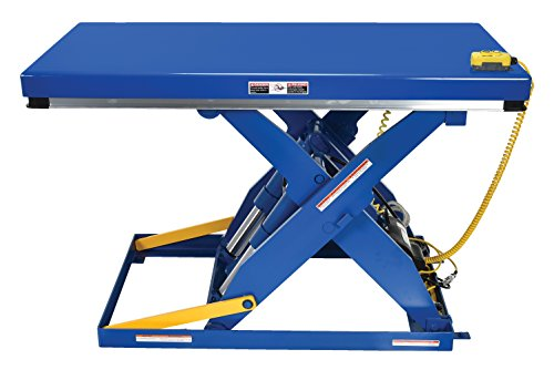 Delightful Vestil EHLT 3060 4 43 Electric Hydraulic Scissor Lift Table ...