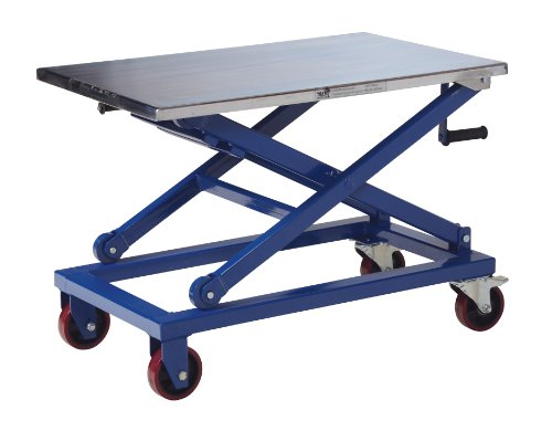 Vestil Cart 660 M Steel Mechanical Scissor Cart 660 Lbs