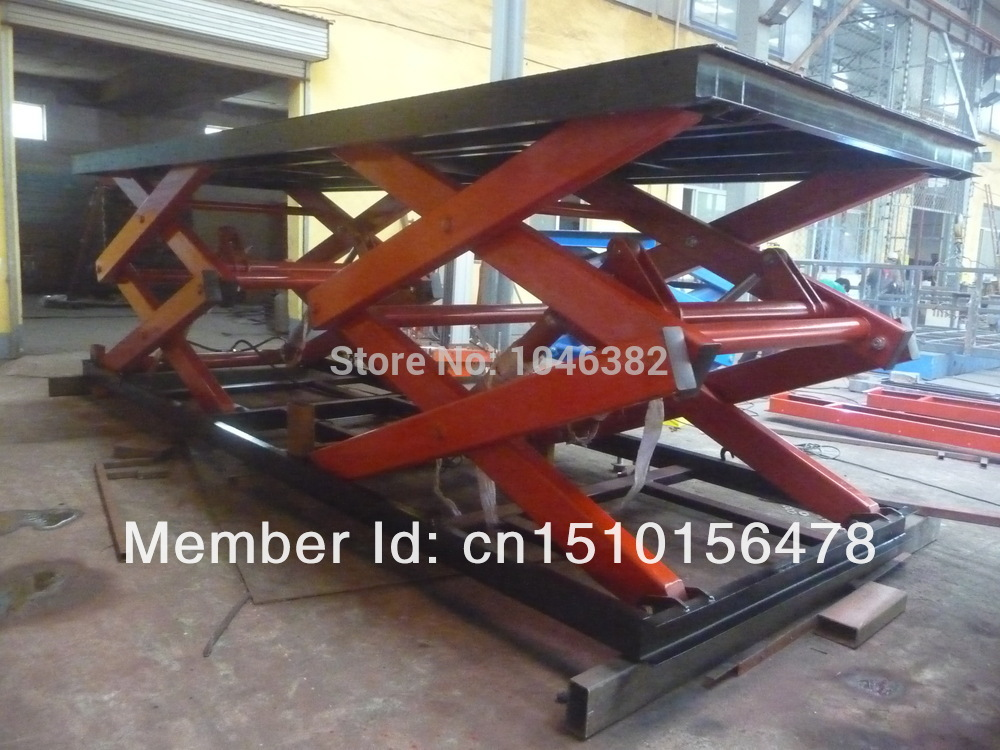 Electric Hydraulic Statonary Scissor Lift Platform