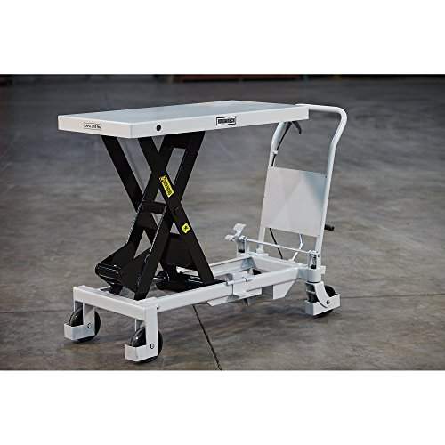Roughneck Hydraulic Lift Table Cart 2 200lb Capacity