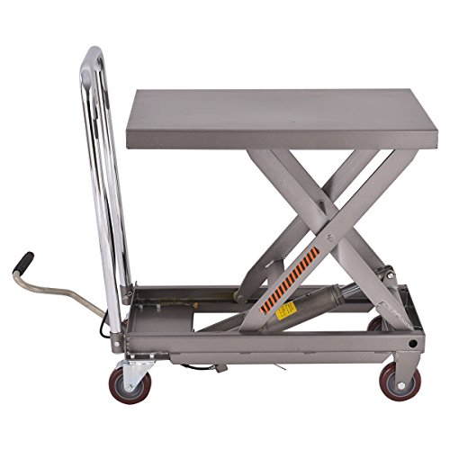 Goplus Hydraulic Scissor Lift Table Cart Dolly Scissor