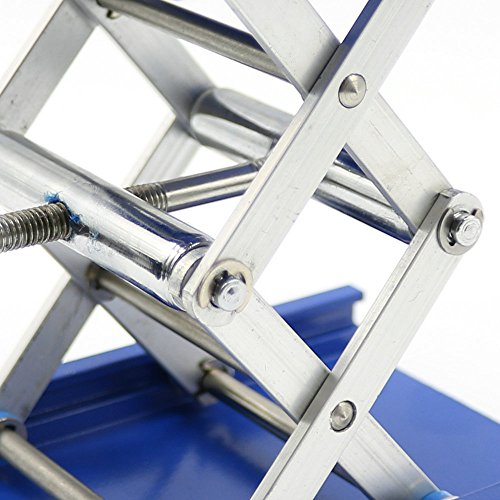 6 Aluminum Lab-Lift Lifting Platforms Stand Rack Scissor Lab Jack 150x150x250mm
