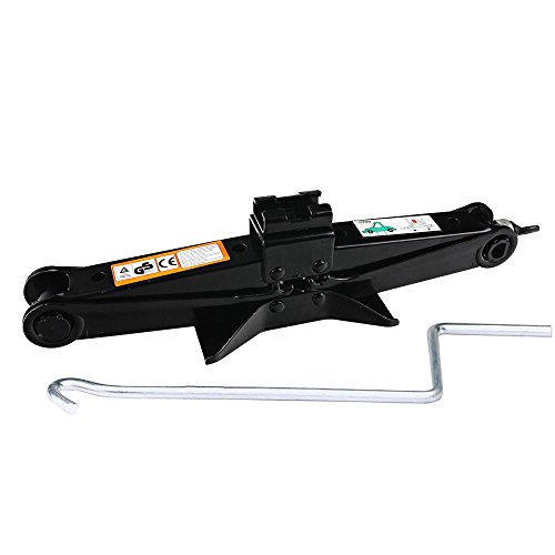 DICN Scissor Screw Jack Lift for Car Van Vehicles 2 Ton 4 ...