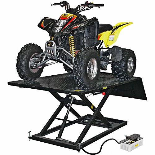 Black Widow Atv Lift Table Pro 1 500 Lb Air Over Hydraulic